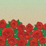 Fondo inconsútil floral lindo del modelo Fotos de archivo libres de regalías