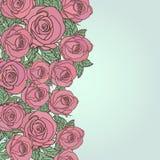 Fondo inconsútil floral lindo del modelo Imágenes de archivo libres de regalías