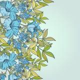 Fondo inconsútil floral lindo del modelo Foto de archivo