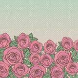 Fondo inconsútil floral lindo del modelo Imagen de archivo