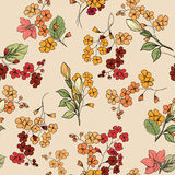 Fondo inconsútil floral Modelo de flor decorativo SE floral Imágenes de archivo libres de regalías