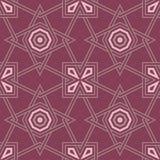 Fondo inconsútil geométrico rojo púrpura Fondo de color rojo oscuro oscuro Imagen de archivo libre de regalías