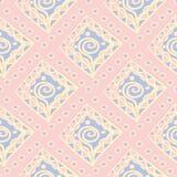 Fondo inconsútil geométrico rosado Modelo coloreado multi ilustración del vector