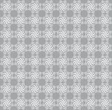 Fondo inconsútil gris del damasco Fotografía de archivo