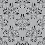 Fondo inconsútil gris y negro Foto de archivo libre de regalías
