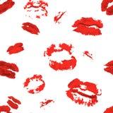 Fondo inconsútil impresiones de los labios libre illustration