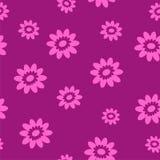 Fondo inconsútil lindo con las flores ilustración del vector