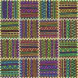 Fondo inconsútil Modelo del color con la costura Imagen de archivo