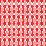 Fondo inconsútil orgánico de las habas rojas Foto de archivo