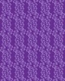 Fondo inconsútil púrpura con el estampado de flores Imágenes de archivo libres de regalías
