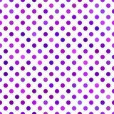 Fondo inconsútil púrpura del modelo de punto - vector el diseño Fotografía de archivo