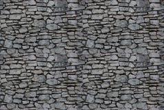 Fondo inconsútil: pared de piedra Imagen de archivo libre de regalías