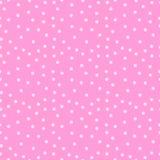 Fondo inconsútil rosado lindo del modelo en estilo de la sorpresa de la muñeca del lol Ilustraci?n del vector foto de archivo