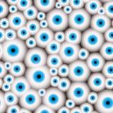 Fondo inconsútil del modelo de mal de ojo Fotografía de archivo libre de regalías