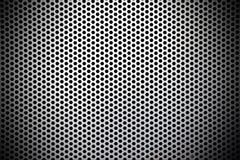 Fondo inconsútil neto de la textura del metal Fotografía de archivo