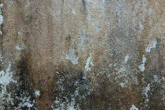 Fondo incrinato del muro di cemento Immagini Stock