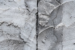 Fondo incrinato del pavimento del cemento di struttura della parete Immagini Stock Libere da Diritti