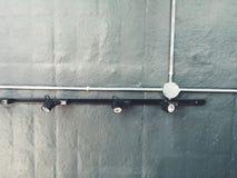 Fondo industrial Fotografía de archivo