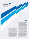 Fondo industrial abstracto. Vector. Imagenes de archivo