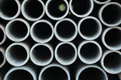 Fondo industrial de los tubos imagenes de archivo