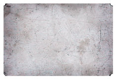Fondo industrial plateado de metal rasguñado aluminio del grunge Fotografía de archivo