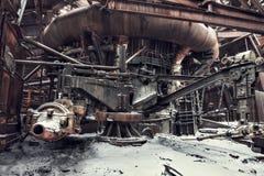 Fondo industriale Fotografie Stock Libere da Diritti