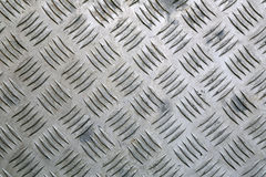 Fondo industriale del piatto di alluminio Immagine Stock