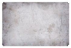 Fondo industriale di piastra metallica di lerciume graffiato alluminio Fotografia Stock