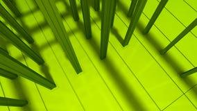 Fondo industriale verde Immagine Stock