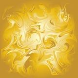 Fondo insolito astratto dell'acrilico dell'oro Fotografia Stock Libera da Diritti