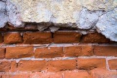 Fondo invecchiato della parete della via Immagini Stock Libere da Diritti