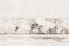 Fondo invecchiato di struttura della parete della via Fotografia Stock Libera da Diritti