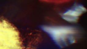 Fondo iridiscente digital multicolor del error de datos de la ciencia ficción almacen de metraje de vídeo