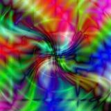 Fondo iridiscente ondulado Imagen de archivo libre de regalías