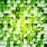 Fondo iridiscente verde de la tecnología Imagenes de archivo