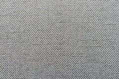 Fondo irregolare di grey del tessuto Fotografia Stock Libera da Diritti