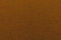 Fondo irregolare di marrone del tessuto Fotografie Stock Libere da Diritti