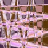Fondo irregolare rosa geometrico moderno di zigzag Royalty Illustrazione gratis