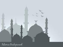 Fondo islámico stock de ilustración