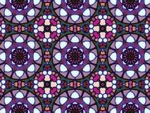 Fondo islamico arabo tradizionale Elemento della decorazione della moschea illustrazione di stock