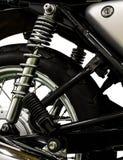 Fondo isolato motociclo d'annata Fotografia Stock Libera da Diritti