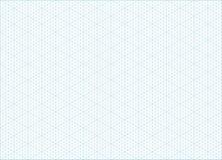 Fondo isometrico della carta millimetrata di griglia illustrazione di stock