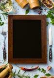 Fondo italiano de la cocina casera del arte; semana del restaurante Fotos de archivo