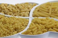Fondo italiano de las pastas Imagen de archivo libre de regalías
