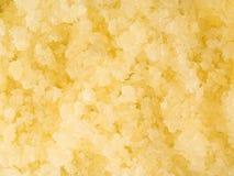 Fondo italiano dell'alimento di granita del limone del dessert di estate Fotografie Stock Libere da Diritti