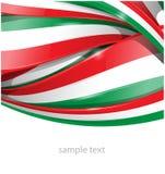 Fondo italiano y mexicano stock de ilustración