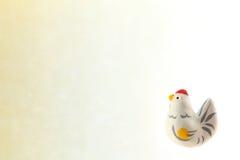Fondo japonés del gallo del Año Nuevo Imágenes de archivo libres de regalías