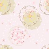 Fondo japonés del vector con el flor de cereza Fotografía de archivo libre de regalías
