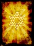 Fondo judío del grunge de Yom Kippur Fotografía de archivo libre de regalías