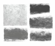 Fondo, lápiz del grafito, carbón de leña, textura, marco, bandera, fondo blanco stock de ilustración